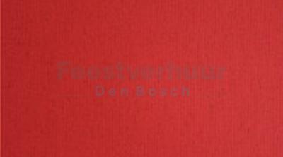 bewerkt tafelkleed rood