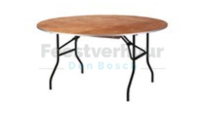 ronde tafel bewerkt